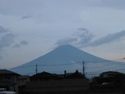 To The Gozen-sama This is Mt.Fuji in the evening.  It was so beautiful.